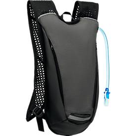 """Rucksack """"Water2Go"""", mit 2-l-Wassertank, verst. Schultergurte, Polycanvas/Polyester, WAB B80xT40 mm"""