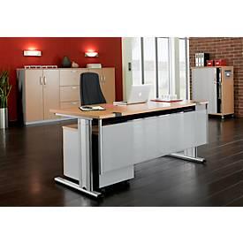 Rückseitenblenden, H 470 mm, für Schreibtisch B 800 mm