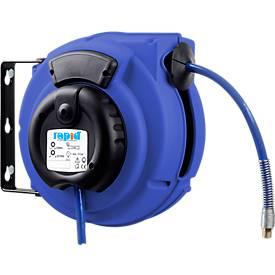 Safety Control, für Schlauchaufroller Druckluft, Länge 8 Meter, gefahrloses Aufrollen