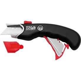 Safety Cutter Premium, inkl. 10 Ersatzklingen gratis, für Rechts- und Linkshänder