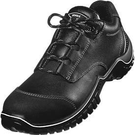 Safety low shoe Uvex motion light S3 SRC, leder, PU zool, ESD geleidend, breedte 11, maat 38