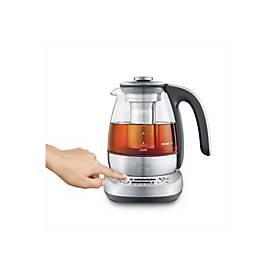 Sage STM500CLR4EEU1 The Smart Tea Infuser Compact - Tee-/Wasserkocher - gebürsteter Edelstahl/Glas