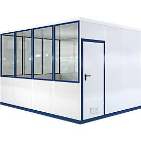 Salle nomade, L 4090 x l 3045 mm, pour montage en intérieur