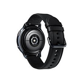 Samsung Galaxy Watch Active 2 - schwarzes Edelstahl - intelligente Uhr mit Band - schwarz - 4 GB