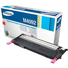 Samsung toner Samsung CLTM4092S ELS | M4092 Toner magenta, 1.000 Paginas/5% voor Samsung CLP-310/N, CL...