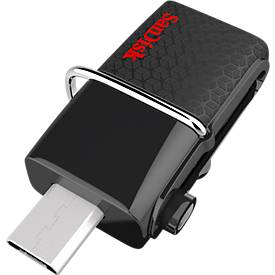 SanDisk Ultra dual USB-station 3.0, 64 GB