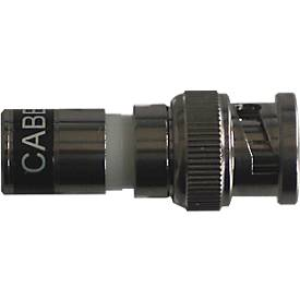 Santec HD-SDI BNC Stecker BNC-HD-CCTV/10, passend zum Koaxial-Kabel, 10 Stück