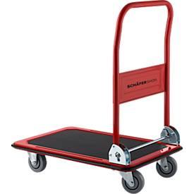 Schaefer Shop Chariot à plateau- charge 150 kg