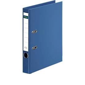 SCHÄFER SHOP gekleurde ordners, A4, 50 mm, PP, blauw, stuk