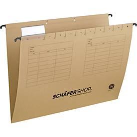 Schäfer Shop Select  hangmappen, voor formaten tot A4, opening aan de zijkant