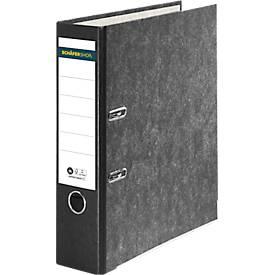 Schäfer Shop Select Ordner, DIN A4, Rückenbreite 80 mm, 20 Stück, schwarz