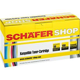 Schäfer Shop Toner baugleich C9702A, gelb