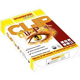 SCHÄFER SCHOP Papier copieur multi fonctions Clip OutPut, A4, 80 g/m²