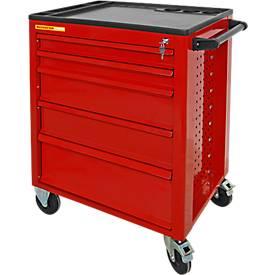 Schäfer Shop Chariot d'atelier à 5 tiroirs