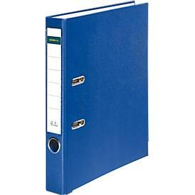 SCHÄFER SHOP Classeurs à levier PP/Papier, A4, avec porte étiquette, dos de 80/50 mm