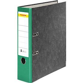 SCHÄFER SHOP Ordner, DIN A4, 80 mm, 20 Stück + GRATIS 1 PP-Ordner-Register A-Z