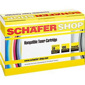 Schäfer Shop Toner baugleich CE250X, schwarz