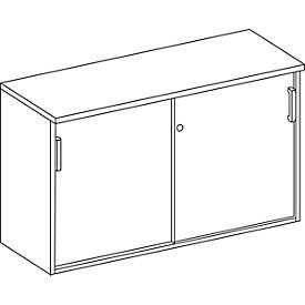 Schiebetürenschrank WINEA COMPACT, B 1200 x T 420 mm