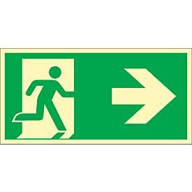 Schild Rettungsweg, HLA 160