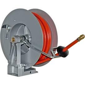 Schlauchaufroller, automatisch, für Druckluft, Länge 10 Meter, Aluminiumguss