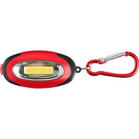 Schlüsselanhänger Express, Kunststoff, 6 LEDs, Wechsellicht, mit Karabiner