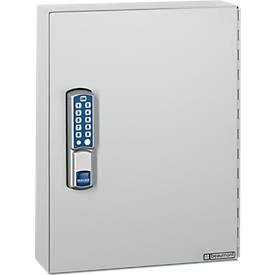 Schlüsselschrank ELO, mit 30 Haken, mit gesicherten Haken, Elektroschloss