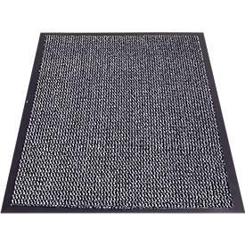 Schmutzfangmatte PP, für Innenbereiche, melierte Oberfläche, rutschfester Vinylrücken