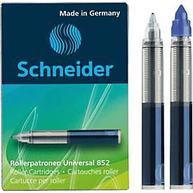 Schneider Tintenpatrone, blau, 5 Stück