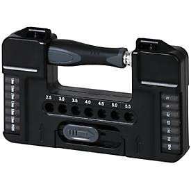Schraubendreher-Set Tool Case M, 28-teilig, mit Bits und Stecknüssen