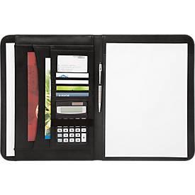 Schreibmappe Accento, DIN A4, Kunstleder, inkl. Schreibblock