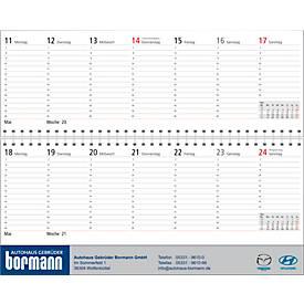 Tischkalender mit logo bedrucken werbeartikel sch fer shop for Schreibtisch querkalender