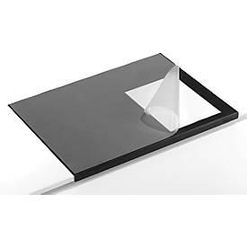 Schreibunterlage mit Kantenschutz und Vollsichtplatte