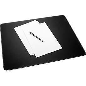 Schreibunterlage sigel® eyestyle®, schwarz mit weißer Zierkante