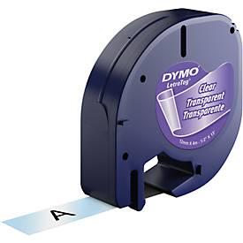 Schriftbandkassette für DYMO® Letra Tag, Plastik, 12 mm
