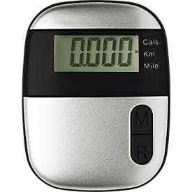 Schrittzähler Onmood, mit Entfernungsmesser, mit Kalorienzähler, mit Clip