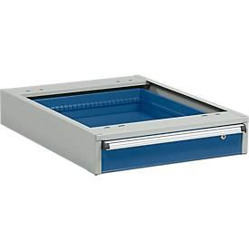 Schubladenblock, 1 Schublade, B 550 x T 715 x H 130 mm
