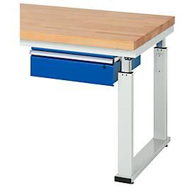 Schubladenblock, für Arbeitstische Serie adlatus 600, Tragkraft 100 kg