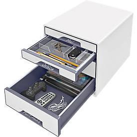 Schubladenbox Beschriftungsschild Leitz, für Leitz CUBE & Leitz WOW CUBE, 5 Stück, transparent