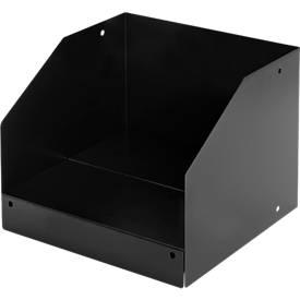 Schubladenbox mit Boden, für 8 HE Blenden