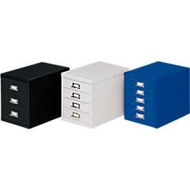 Schubladenschrank DIN A4, mit 8 Schubladen, 675 mm hoch