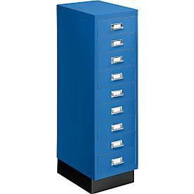 Schubladenschrank DIN A4, mit 9 Schubladen, 940 mm hoch