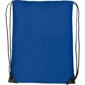 Schuhrucksack Basic, 340 x 420 mm, 210D-Polyester, mit Zugkordel und Metallösen