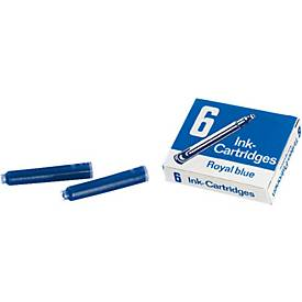 SCHULE - Tintenpatrone, königsblau, 6 Stück
