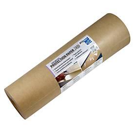 Schutz-/Abdeckpapier, braunes Packpapier 50g/m², L 50 m x B 300 mm
