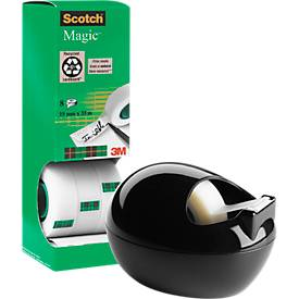 Scotch® Magic Klebeband, 8 Rollen, inkl. gratis Scotch® Tischabroller PBL-B810