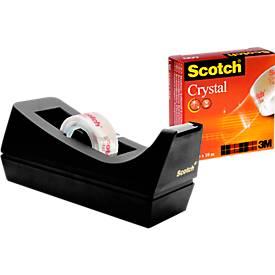 Scotch®  Dérouleur noir + 1 rouleau 19 mm x 10 m inclus