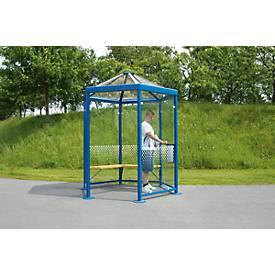 Sechseck-Raucherpavillon Modell Paris