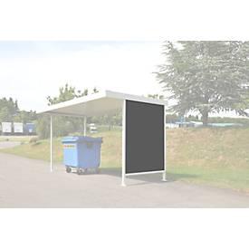 Seitenwand, für Überdachungssystem Modell Leipzig, T 4400 mm