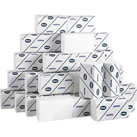 Serviettes KLEENEX® Ultra interfold, petit modèle, ultra-blanc, 3720 serviettes