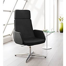 Sessel Sitness Lounge, mit oder ohne Armlehne, Rückenlehnehöhe 760 mm
